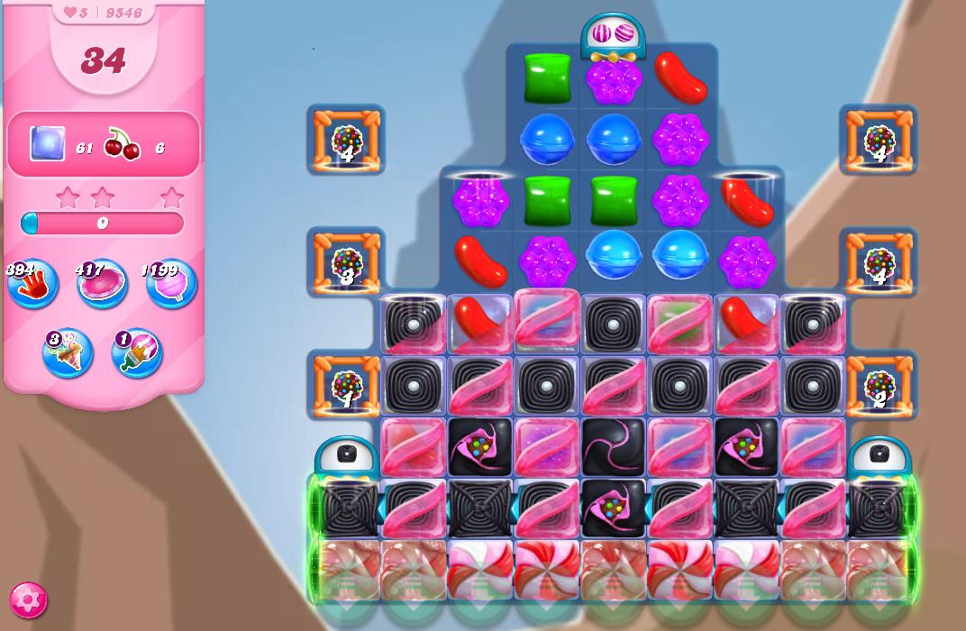 Candy Crush Saga level 9546