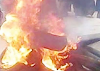 Three armed robbers burnt to death in failed bank robbery attack in Oyo. PHOTOS