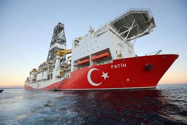 Türkiye'nin karadenizde'ki doğalgaz keşfi İngiltere basınında