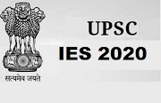 UPSC IES Exam 2020 Notification Out - Apply Now