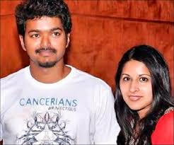 Vijay actor wife