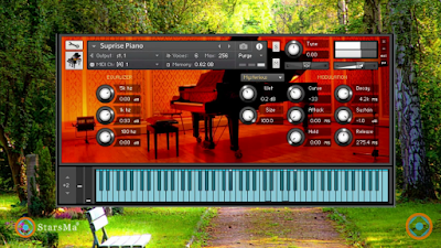 تحميل بيانو مميز يشتغل على الكونتاكت Suprise Piano for Kontakt 6.0.4 برابط مباشر