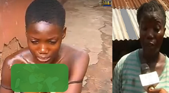 woman pours hot soup on daughter benin