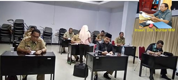 Drs.Muhtar MM : Ada 5 Calon, Terlambat ,Wawancara, Ketua, Panitia ,Sibuk