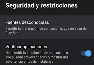 Seguridad y Restricciones de AndroidTV para App