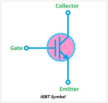 IGBT Symbol, symbol of IGBT