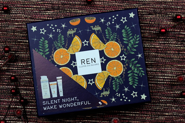 A review of REN Skincare Night Time Favourites Frankincense Face Gift Set