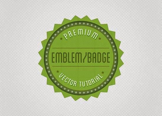 Create a Retro Badge/Emblem Logo in Illustrator