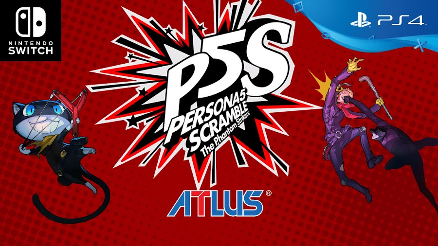 persona 5 scramble the phantom strikers  nintendo switch playstation 4 release date 2020 atlus koei tecmo omega force