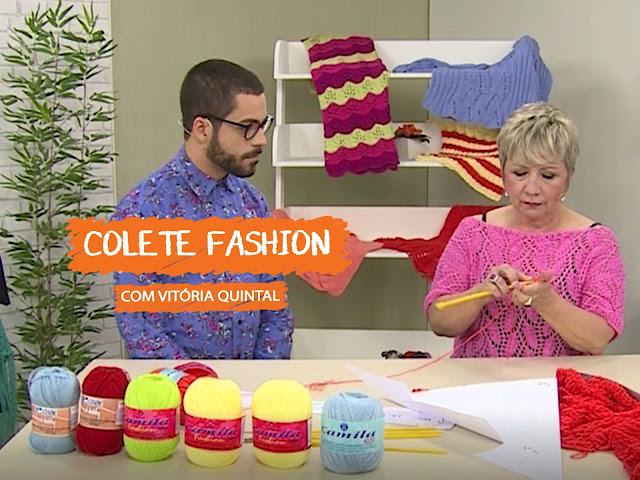 Aula - Colete Fashion com Vitória Quintal