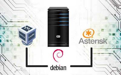 Cara Mudah Konfigurasi Voip Dengan Asterisk di Debian