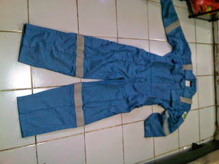 COVERALL FIRE RETARDANT COTTON 100%