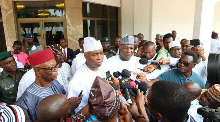 Saraki says lets focus on national issues.png