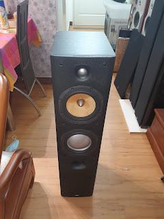B&W DM603 S3 Floorstand speaker (Used) 20200829_103305