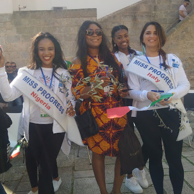 The reigning Miss Peace Nigeria Queen, Melody Odiete John represents Nigeria at the Miss Progress International 2017, Puglia, Italy