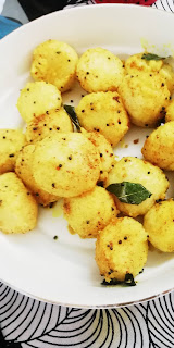 Fried idli