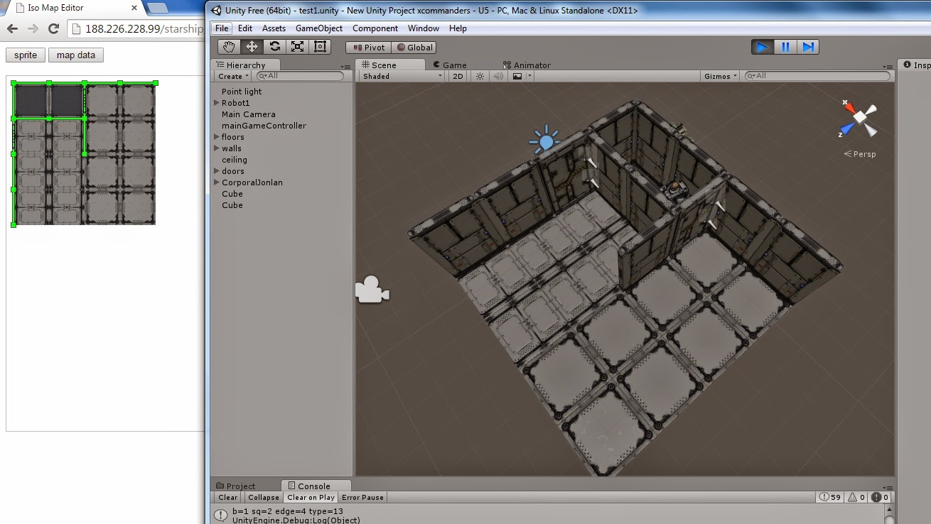 Nerd Club: Integrating Unity with a web-based map editor