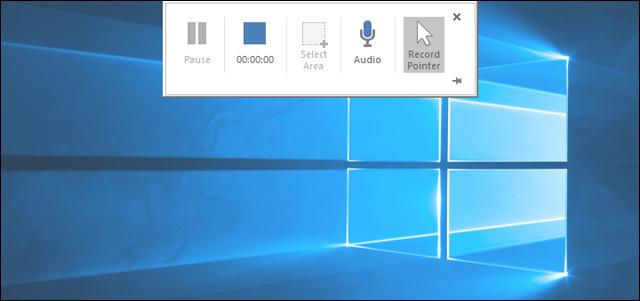 كيفية تصوير شاشة الكمبيوتر فيديو بواسطة PowerPoint