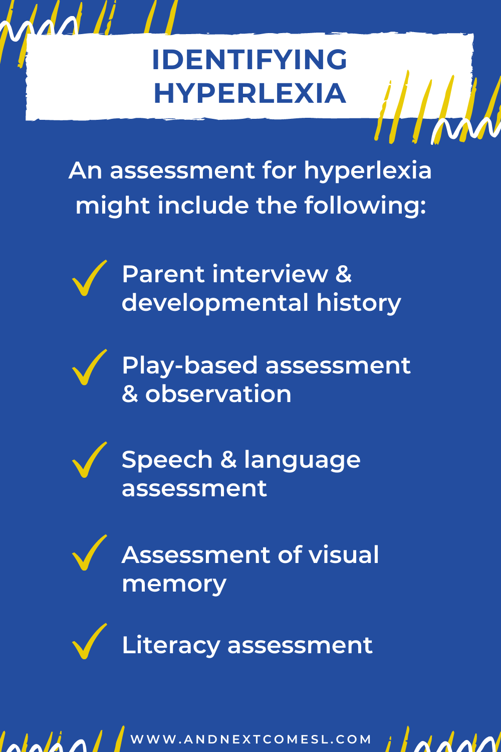 Identifying the hyperlexic child: how to diagnose hyperlexia