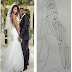 Check: See what this so-called artist did to Kevin and Eniko Hart's photo