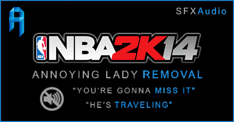 NBA 2K14 Crowd Chatter Lady Sound Mod