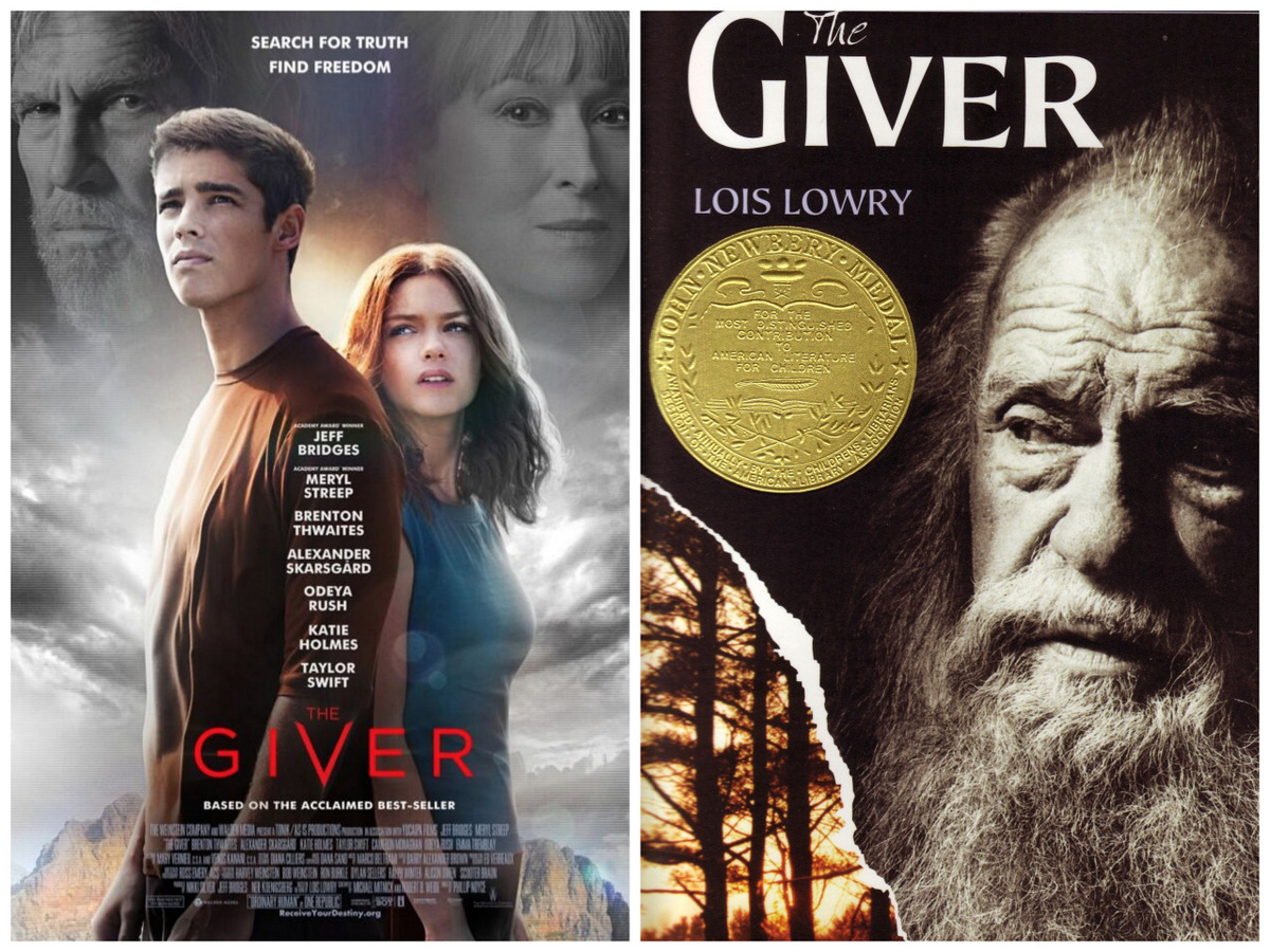 Delicious Reads The Giver Book To Movie