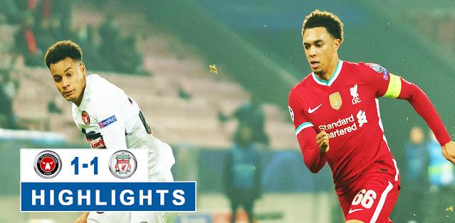 Midtjylland vs Liverpool – Highlights