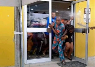 Xenophobia: MTN Office in Uyo Currently Under Attack