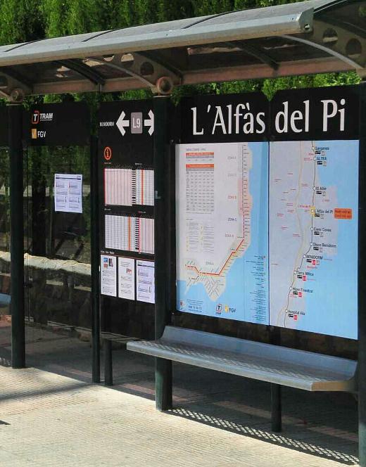 FGV adjudica las obras de señalización, energía y comunicaciones del apeadero de l'Alfàs del Pi de la Línea 9 del TRAM d'Alacant