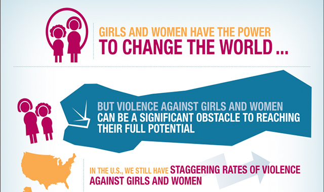 The power of girls and women #infographic