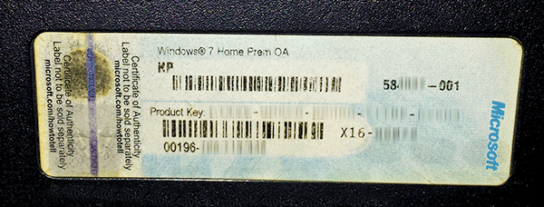[How to]: Πως βρίσκουμε το κλειδί ενεργοποίησης των Windows