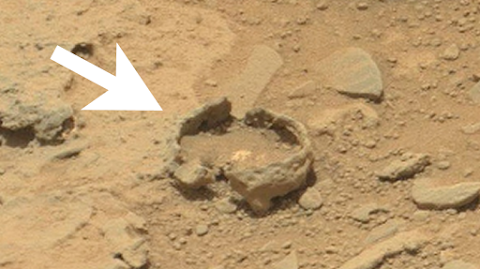 Ancient Bowl Or Pot Found On Mars?