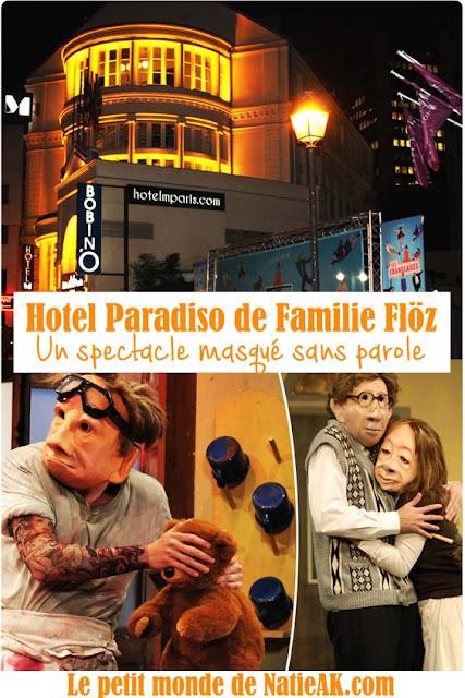 Hotel paradiso Familie floz à Paris
