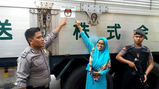 Ini Penjelasan KPU Soal Foto Kontainer yang Diunggah Andi Arief