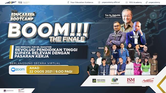 Kupasan Pilihan Graduan Eksklusif Bersama Tun Mahathir di Platform YEG Academy