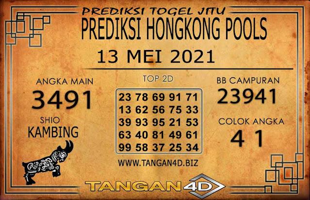 PREDIKSI TOGEL HONGKONG POOLS TANGAN4D 13 MEI 2021