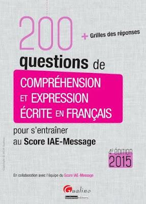 Télécharger Livre Gratuit 200 questions de compréhension et expression écrite en français pdf