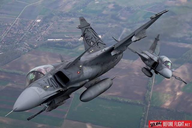 Hungarian Gripen Demo Airshow
