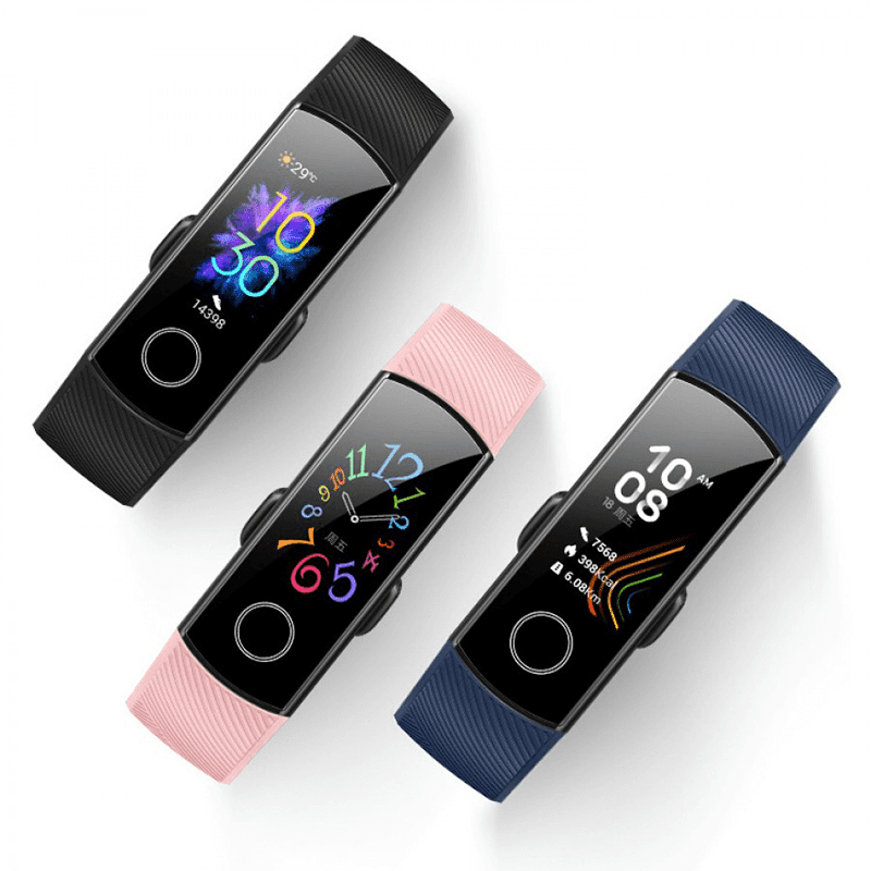 HONOR announces Band 5 with SpO2 blood oxygen monitor sensor