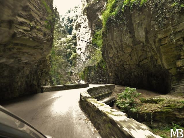 Strada della Forra Tremosine Provincia di Brescia