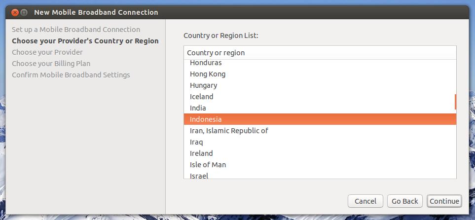 Cara setting USB modem 3G HSDPA di Ubuntu Desktop - Newbie Note
