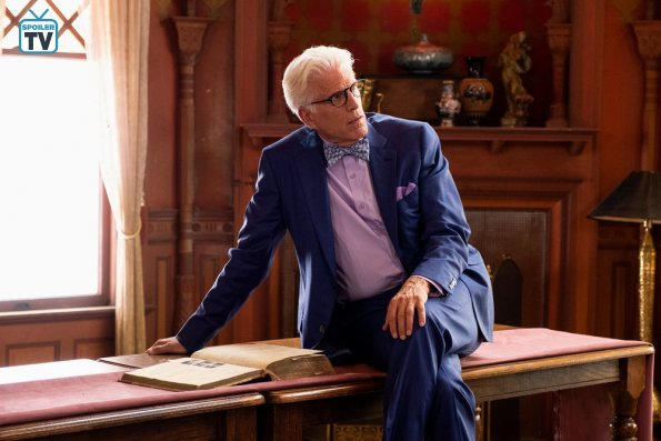 """NUP 183521 0090 595 Spoiler%2BTV%2BTransparent - The Good Place (S03E11) """"Chapter 37: The Book Of Dougs"""" Episode Preview"""