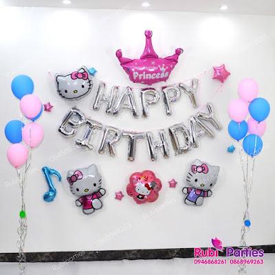 Cửa hàng bán phụ kiện trang trí sinh nhật tại Hàng Gai