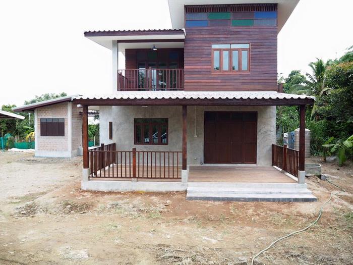 Low Cost Half Concrete House Design Philippines