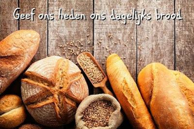 Geef ons heden ons dagelijks brood