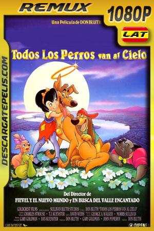 Todos los perritos van al cielo (1989) 1080p BDRemux Latino – Ingles