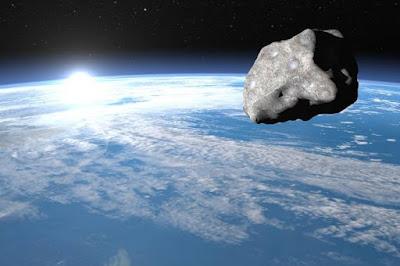 Impacto asteroides - Una Galaxia Maravillosa