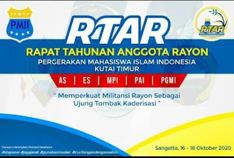 5 Rayon PMII Komisariat STAI Sangatta Gelar RTAR