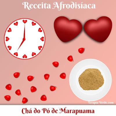 Receita Afrodisíaca: Chá do Pó de Marapuama