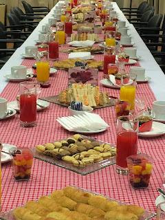 Desayuno Enami día de la secretaria